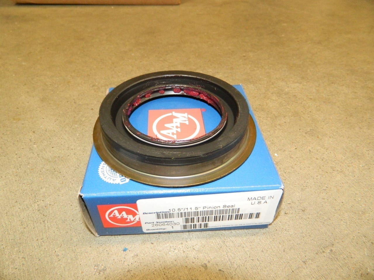 GM 10.5/11.5 Rear Pinion Yoke Seal 1998+ AAM Dodge 2003+