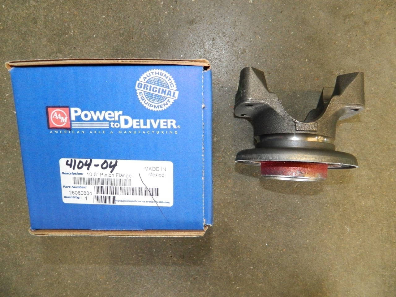 Gm 14 Bolt 10.5/11.5 Rear End Pinion Yoke Differential Full Float 1410 1415 Series U-Joint
