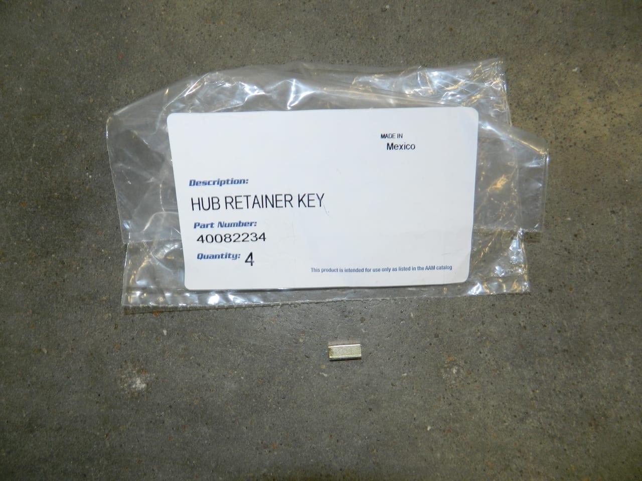 GM & Dodge 10.5/11.5 Hub Nut Key Full Float Rear Axle