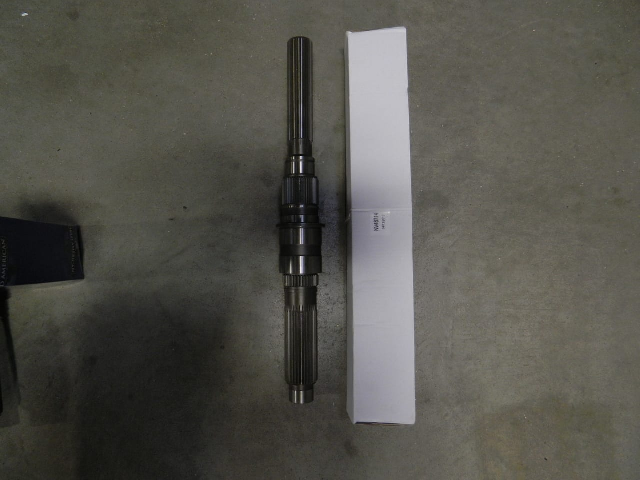 261 & 263 GM & HD transfer case mainshaft