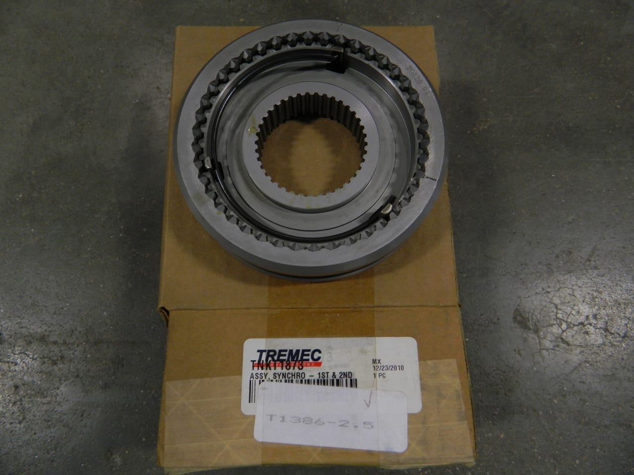 1-2 Synchronizer assembly Tremec T56 6 speed transmission Camaro/Firebird