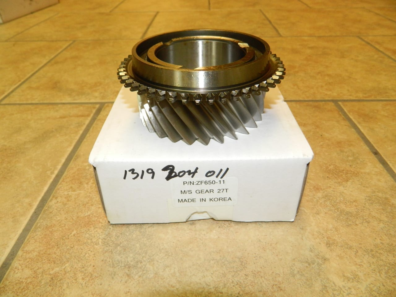 ZF650 Mainshaft 3rd Gear Ford 7 3 6 0 Diesel 6 Speed Transmission ZF750